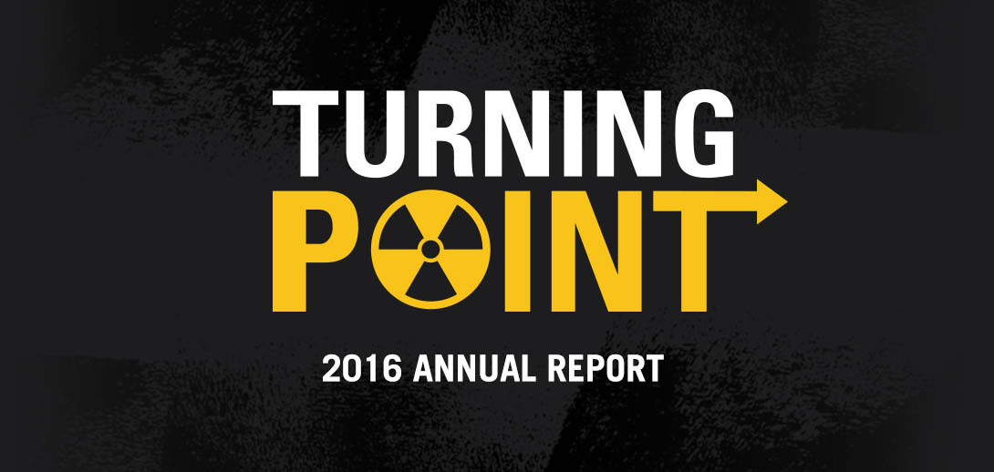 Turning Point | Ploughshares Fund 2016 Annual Report