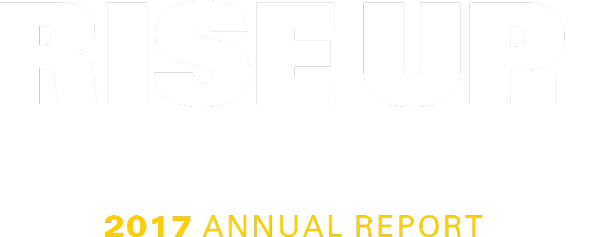 Rise Up: 2017 Annual Report