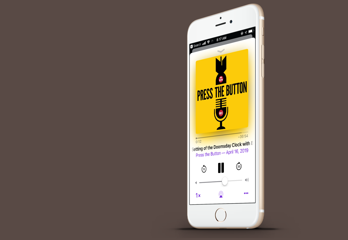 Press the Button - Ploughshares Fund podcast!