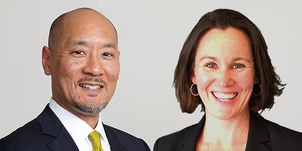 Philip Yun and ElizabethWarner