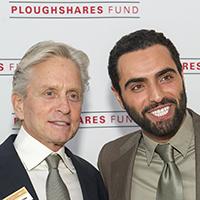 Michael Douglas And Farshad Farahat Ploughshares Fund
