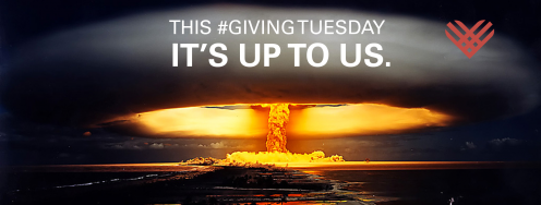 This Giving Tuesday, It's Up to Us