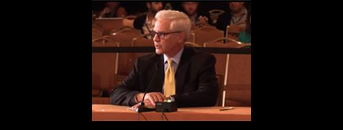 Joe Cirincione Testifies before the Democratic Platform Committee
