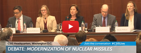 VIDEO: Debate - Modernization of Nuclear Missiles