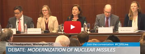 VIDEO: Debate - Modernization of Nuclear Missiles
