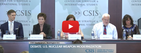 Video: Debate - US Nuclear Weapon 'Modernization'