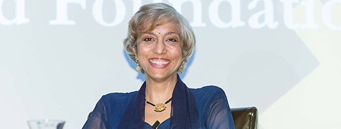 Kavita N. Ramdas Joins Ploughshares Fund's Board of Directors