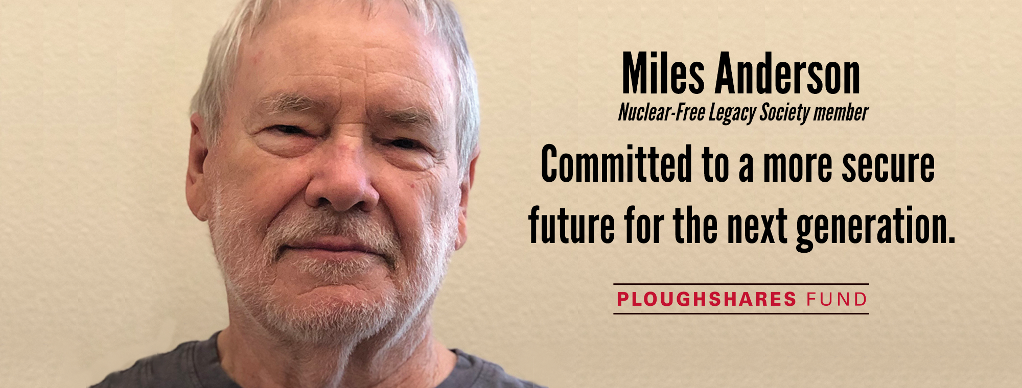Nuclear-Free Legacy Society, Ploughshares Fund