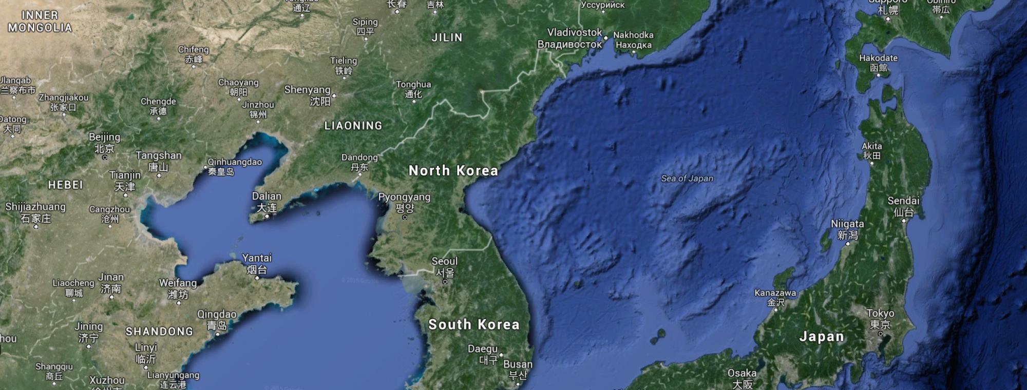North Korea and environs